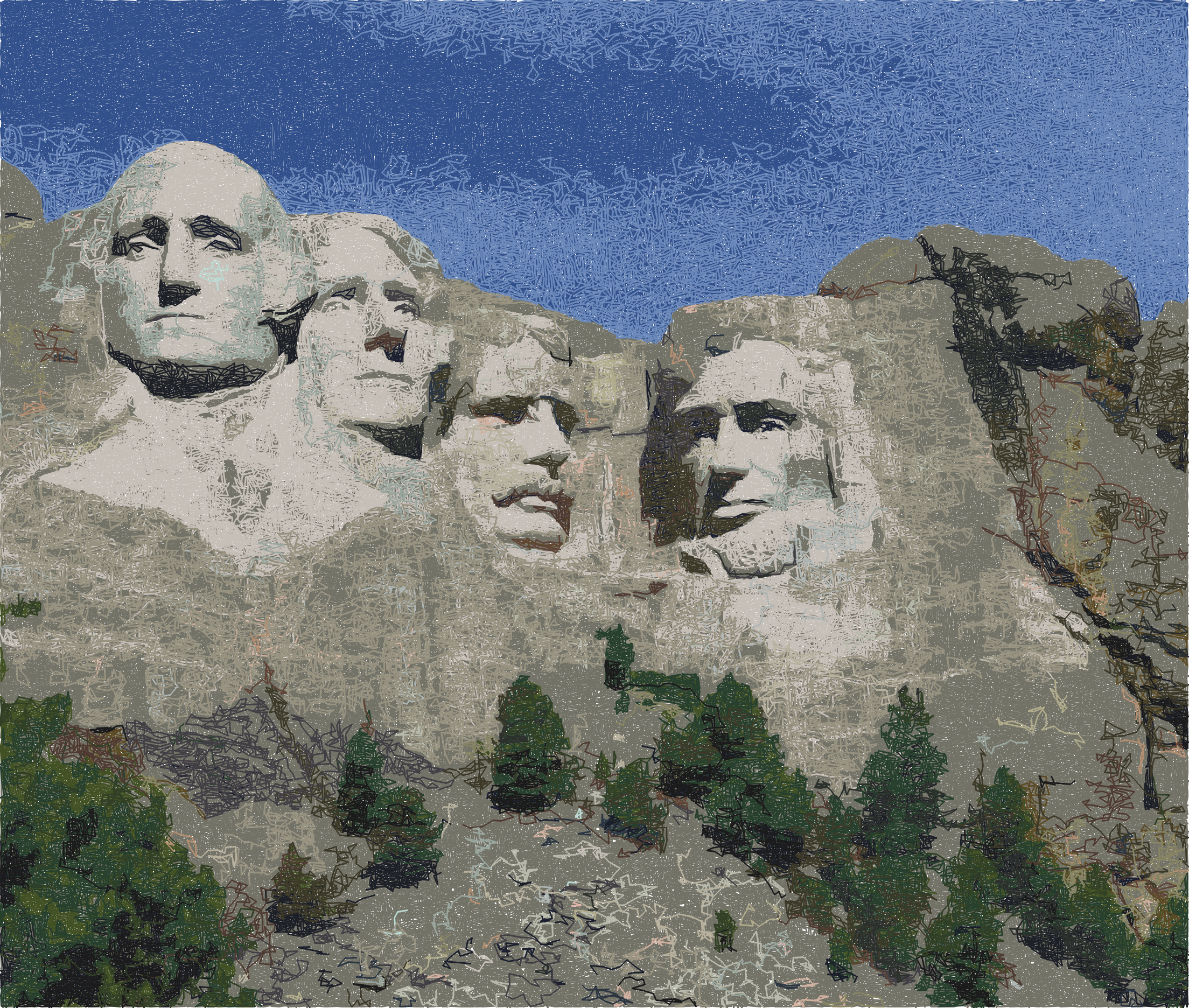Rushmore simulation